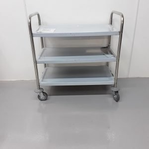 New B Grade Vogue  Stainless Trolley For Sale