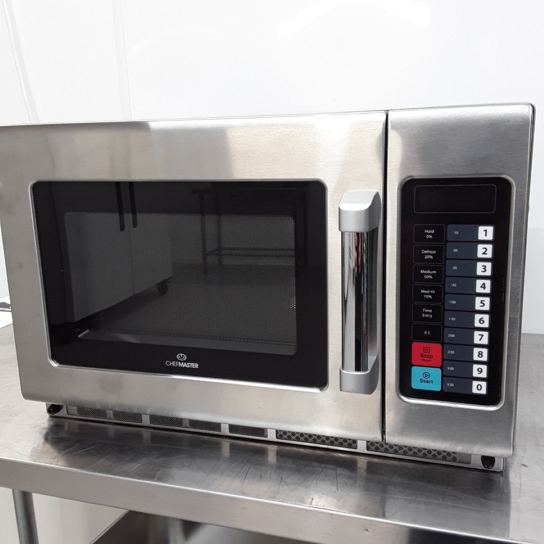 New B Grade Chef Master HEB643 Microwave Programmable 1800w For Sale