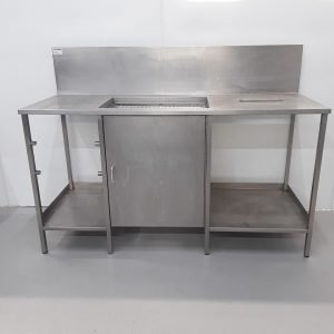 Used   Breading Draining Table For Sale