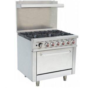 Brand New Infernus RGR36X 6 Burner Oven For Sale
