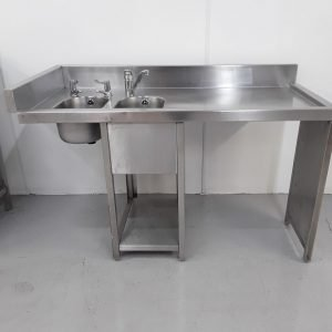 Used   Double Bar Sink For Sale