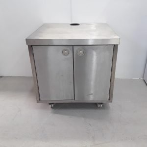 Used   Stainless Cabinet Stand For Sale