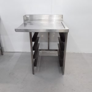 Used   Stainless Dishwasher Table For Sale