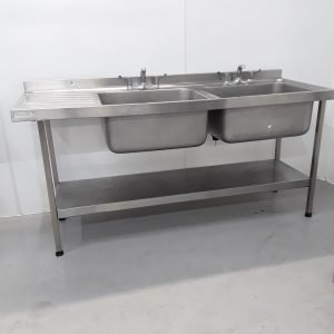 Used Sissons  Double Sink For Sale