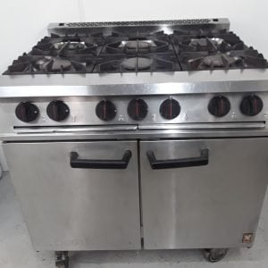 Used Falcon  6 Burner Range Cooker For Sale
