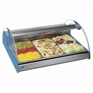 New B Grade  Planet 3 Chilled Countertop Display For Sale