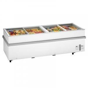 New B Grade Arcaboa 1100CHV Island Freezer For Sale