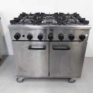Used Burco Titan90 NG 6 Burner Range Cooker For Sale