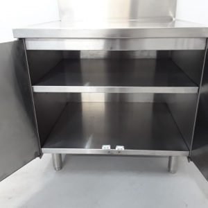 Used   Stainless Stand Cabinet For Sale
