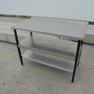 Stainless Steel Table 122cmW x 61cmD x 92cmH