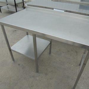 Stainless Steel Table 132cmW x 70cmD x 92cmH