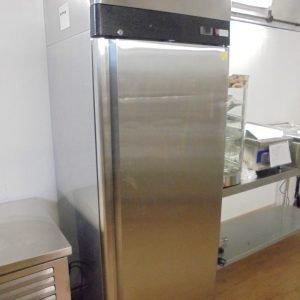 New Valera Stainless Steel Upright Freezer 74cmW x 80cmD x 210cmH