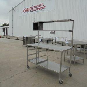 Stainless Steel Table 145cmW x 60cmD x 90cmH