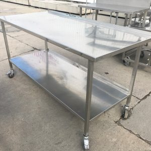 Stainless Steel Table 177cmW x 80cmD x 90cmH