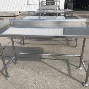 Stainless Steel Table 160cmW x 70cmD x 97cmH