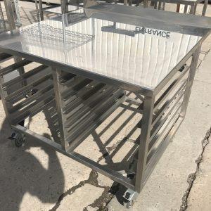 Stainless Steel Stand 94cmW x 87cmD x 71cmH