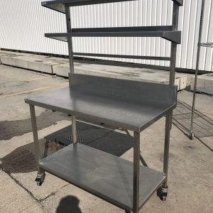 Stainless Steel Table 120cmW x 60cmD x 90cmH