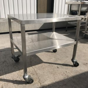 Stainless Steel Table/ Stand 74cmW x 54cmD x 69cmH