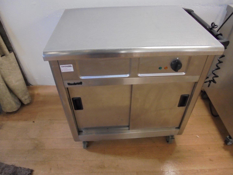 Lincat Heated Trolley Hot Cupboard 90cmw X 65cmd X 90cmh
