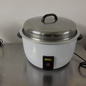 Used Buffalo CB944 Rice Cooker 60cmW x 47cmD x 40cmH