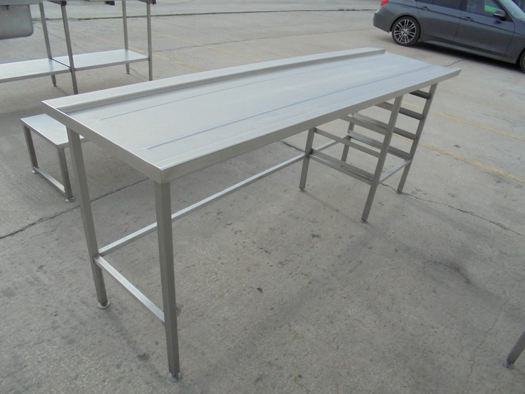 K Commercial Catering Used Stainless Steel Dishwasher Table - Stainless steel dishwasher table