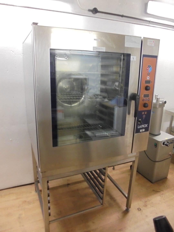 Used Lainox Lxtyp Hme1015 Combi Oven 100cmw X 90cmd X