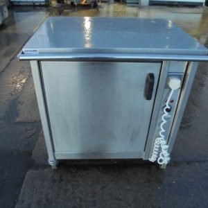 Stainless Steel Electric Hot Cupboard 77cmW x 62cmD x 83cmH