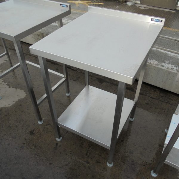 used moffat stainless steel table work bench restaurant. Black Bedroom Furniture Sets. Home Design Ideas