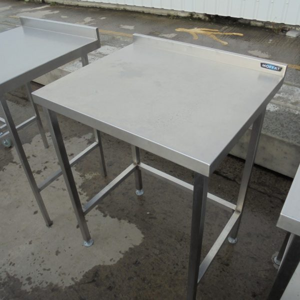 Used Moffat Stainless Steel Table Work Bench Restaurant