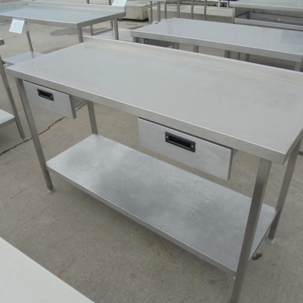 Used Moffat Stainless Steel Table Work Bench Prep