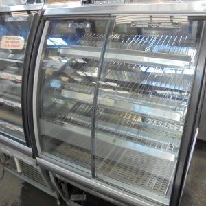 Used FPG ILH BPUK 800 Freestanding Heated Display  Warmer Pie Food Cabinet Hot Pasty Serve Glass 81cmW x 77cmD x 142cmH