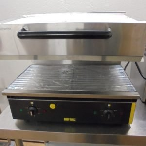 New B Grade Buffalo CD679 Adjustable Salamander Grill | Catering Restaurant