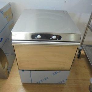 New B Grade DC EG40 Front Loader Glasswasher   Drain Glass Pint Tray Wash 47cmW x 54cmD x 63cmH