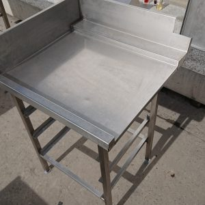 Used   Stainless Steel Dishwasher Table 69cmW x 67cmD x 88cmH