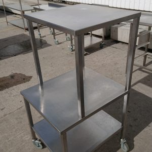Used   Stainless Steel Stand 80cmW x 56cmD x 82cmH