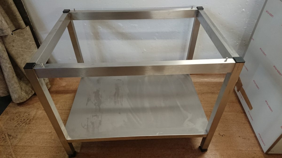 New B Grade Rational Lincat  Stainless Steel Oven Combi Stand For Sale