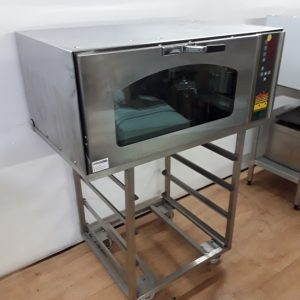 Used Mono BX FG156 Stainless Steel Table Top Bakery Bake Off Oven For Sale
