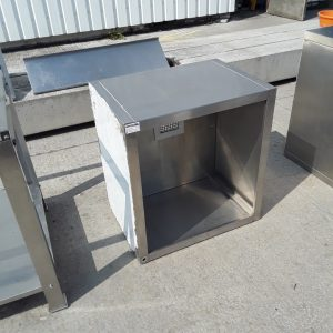 Used   Stainless Steel Extraction Condenser Dishwasher Hood For Sale