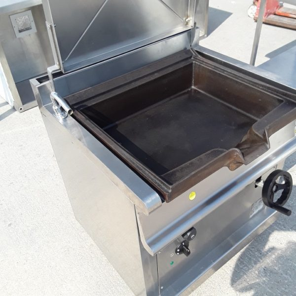 Used Olis Stainless Steel Frying Boiling Bratt Pan 80cmw X