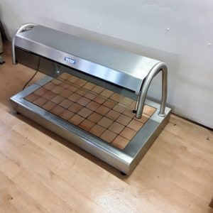 Used Victor  Stainless Steel Table Top Heated Hot Carvery Display For Sale
