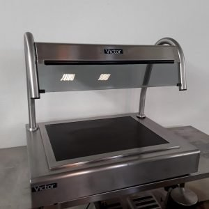 Used Victor  Stainless Steel Table Top Hot Heated Carvery Display For Sale