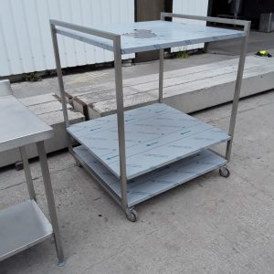 New B Grade   Stainless Steel Table Stand For Sale