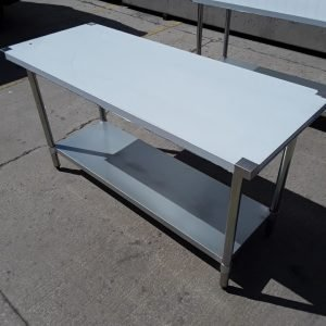 New B Grade   Stainless Steel Low Table Stand For Sale