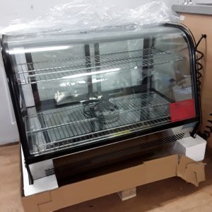 New B Grade Polar CD230 Stainless Steel Table Top Chilled Display Fridge For Sale