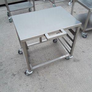 Used   Stainless Steel Oven Dishwasher Stand 69cmW x 57cmD x 68cmH
