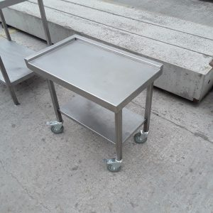 Used   Stainless Steel Table Stand 74cmW x 45cmD x 65cmH