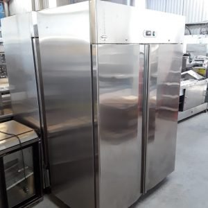 Used Valera AR14TN Stainless Steel Double Door Upright Fridge For Sale