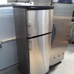 Used Liebherr Premier Stainless Steel Single Door Upright Fridge Freezer For Sale