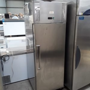 Used Valera UGNSC1 Stainless Steel Single Door Upright Fridge For Sale