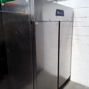 Used Electrolux RH14RE2FS Stainless Steel Double 2 Door Upright Fridge For Sale